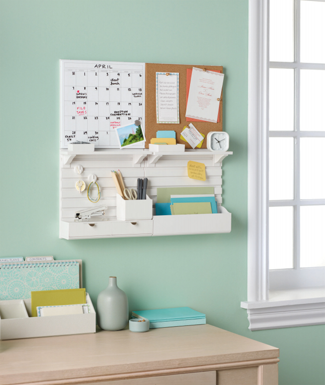 MARTHA MOMENTS New WallManagers From Martha Stewart Home Office