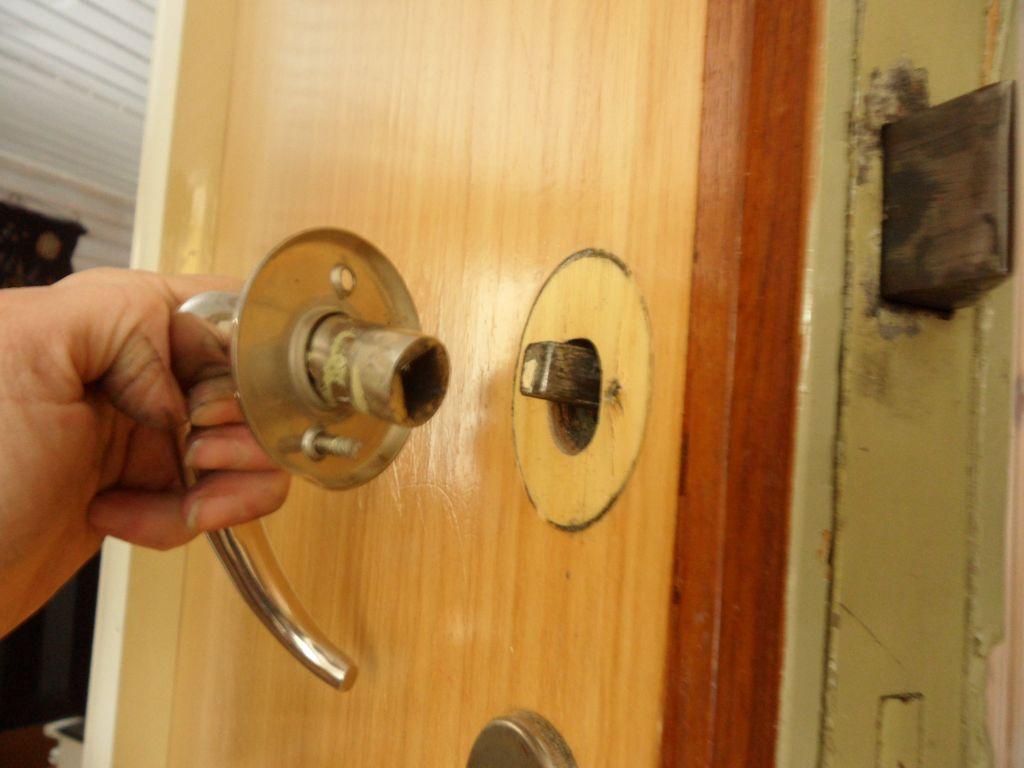 Wc oven lukon korjaus