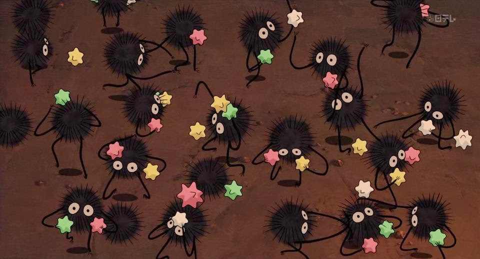 Second Hand Susie How To Make A Studio Ghibli Soot Sprite