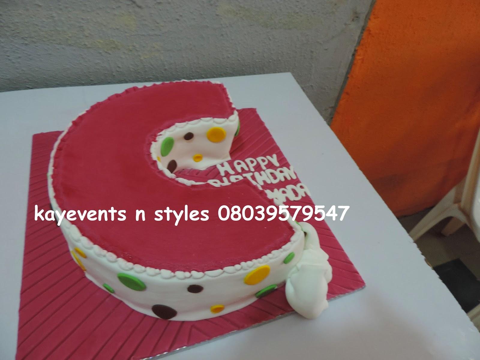 Kay Events N Styles Pastors Birthday Cake