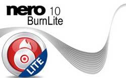 Imagem Nero Lite 10 – Versão do Nero grátis
