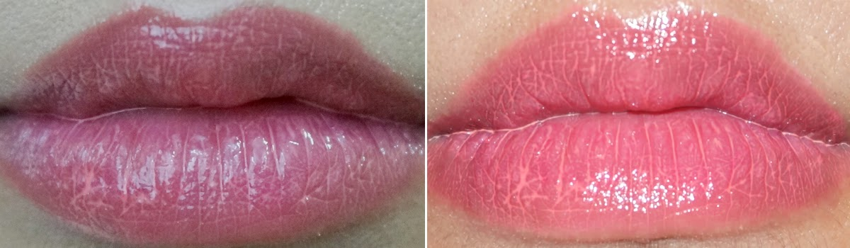 Swatches:  I'm by Mizon Water Glam Lip Tint in Pink Glam