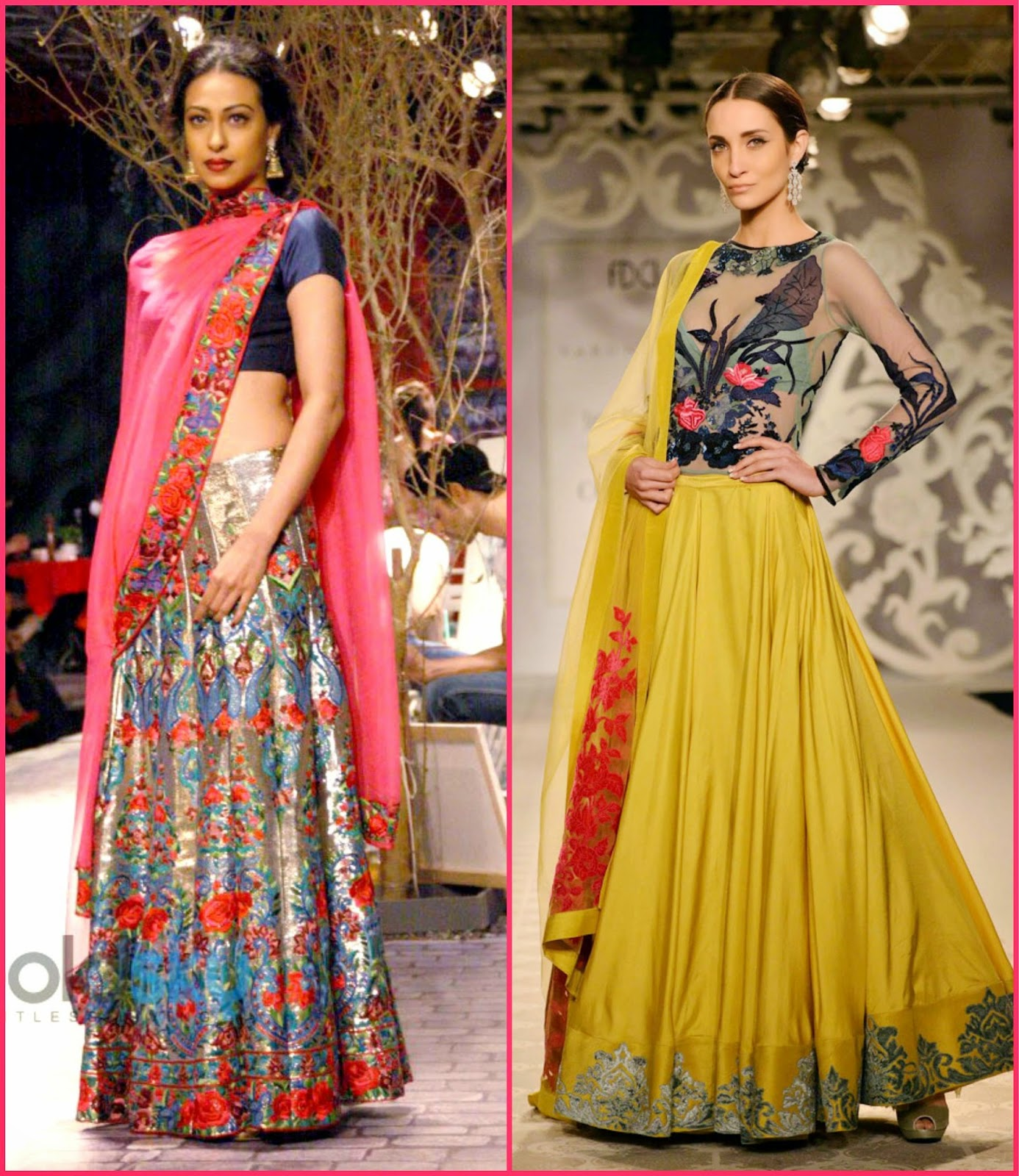 monisha jaising indian couture week 2014