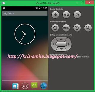 Cara Membuat Emulator Android KIT-KAT OM Kris Blog 5