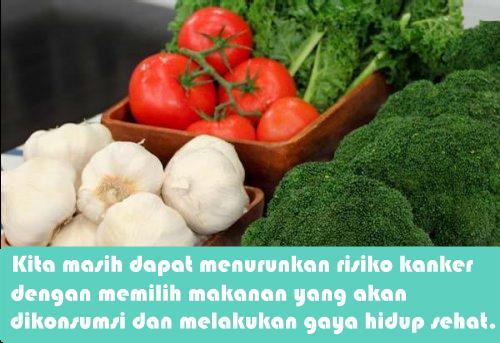 Makanan Ini Mampu Melawan Kanker