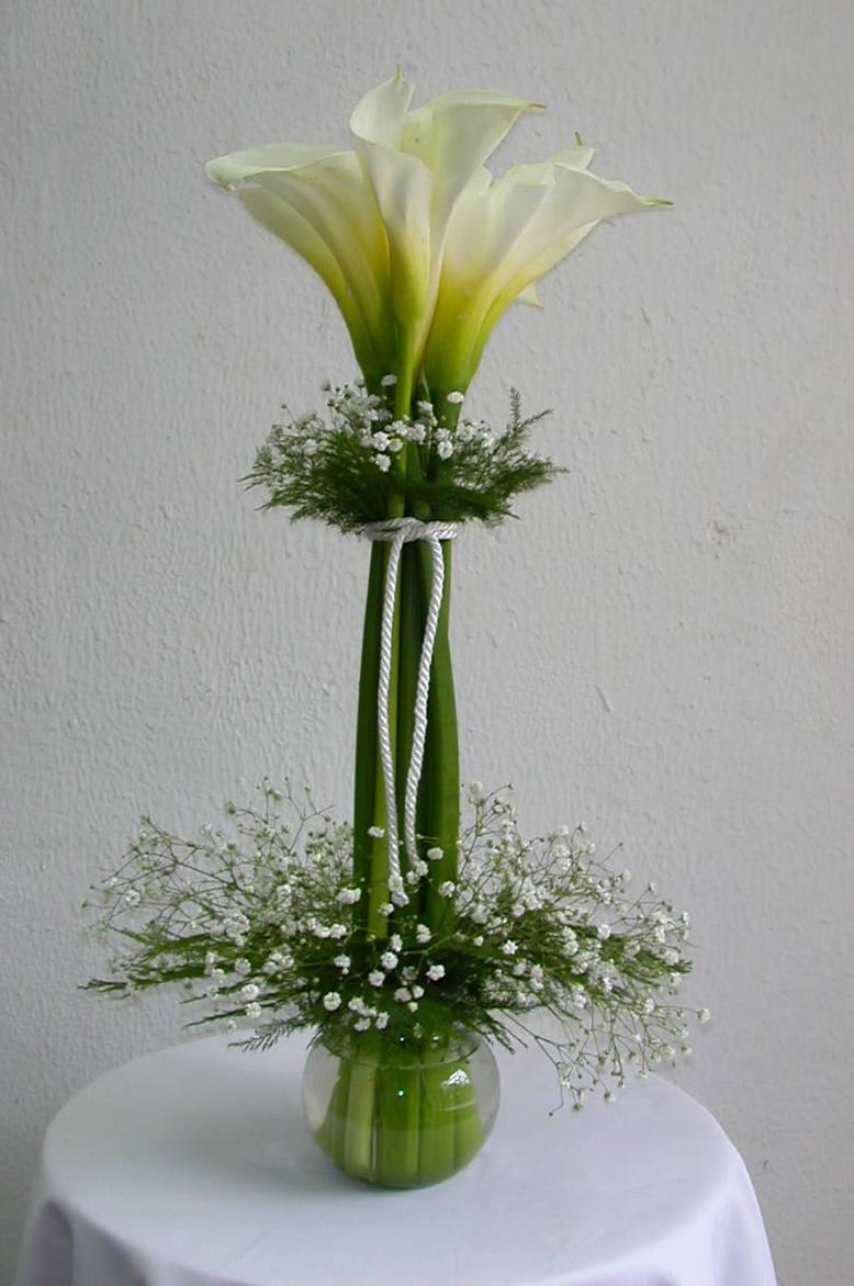Centros de mesa con flores naturales centros de mesa for Mesa centro