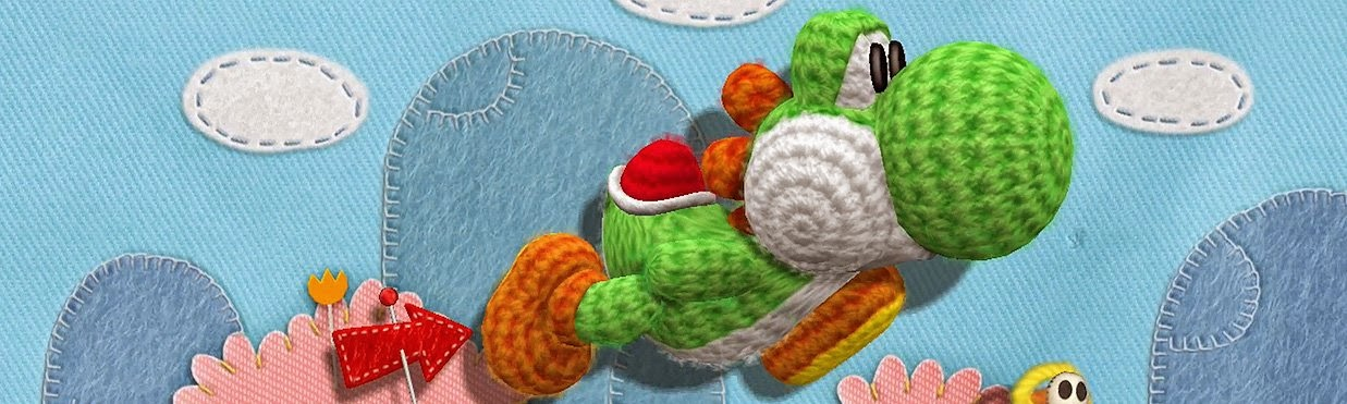 Knitting Patterns For Yoshi : Lizzy Knits - Day by day!: Yoshis Woolly World!