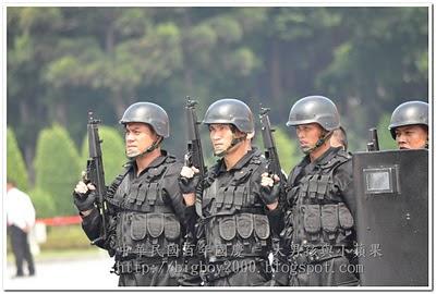 憲兵特勤隊黑衣部隊戰技綜合演練
