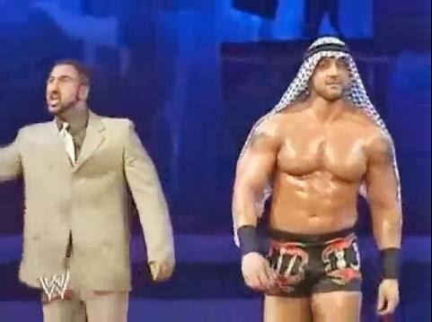 Muhammad Hassan Daivari Royal Rumble 2005 America foreign heel