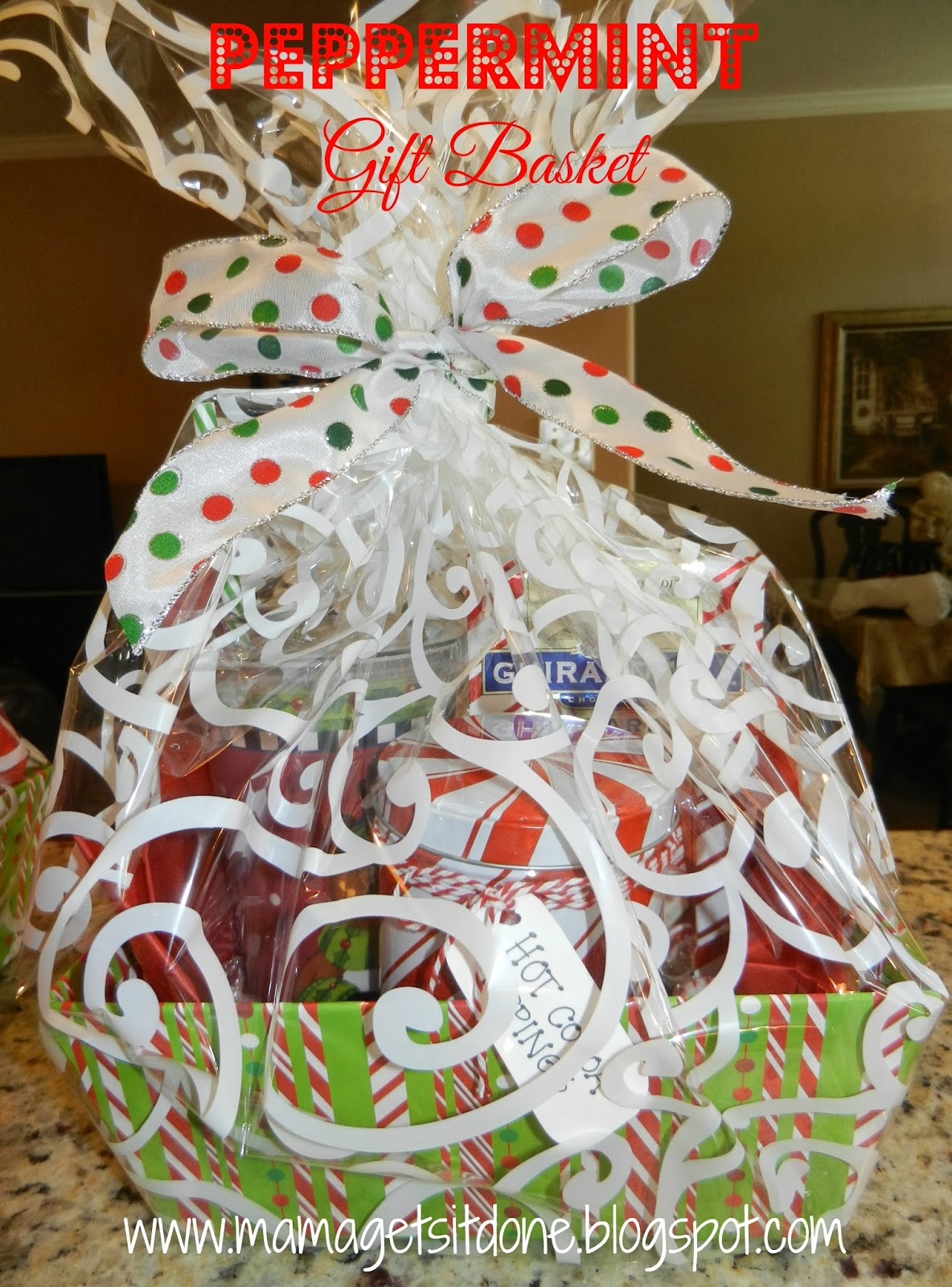 Mama Gets It Done: Peppermint Gift Basket