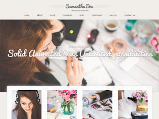 wordpress professional themes : SKT Girlie Lite Theme