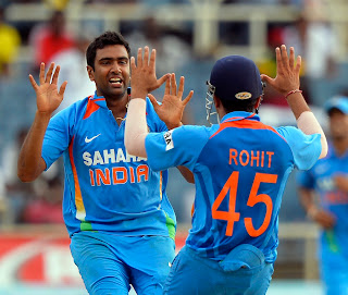 Ashwin-Rohit-West-Indies-vs-India-Tri-Series-2013