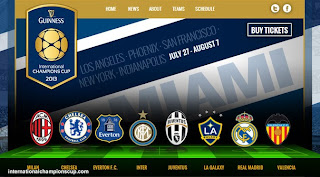 Jadwal Guinness International Champions Cup 2013