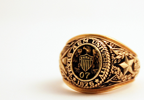 Johnny Manziel picks up his Aggie Ring - Good Bull Hunting