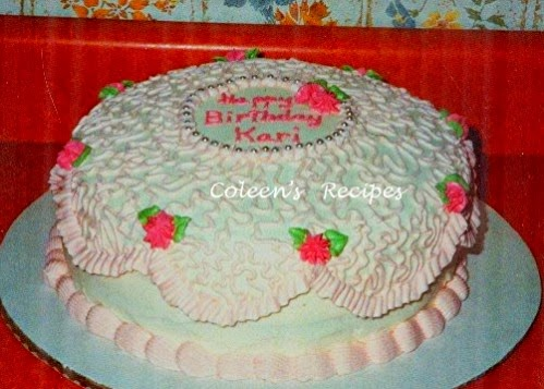 Decorating 101 coleen's recipes: cake decorating 101