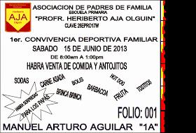 FESTEJANDO EL DIA DEL PADRE 2013