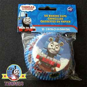Vivid paper Thomas and friends Birthday cake ideas decorating baking cups kit 50 cooking cupcakes