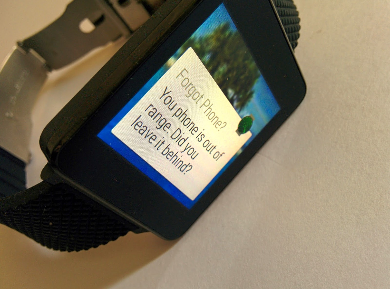 beyond the motor android wear fined my