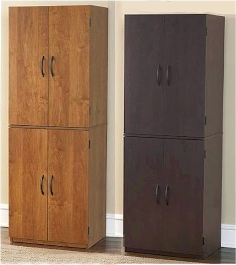 Mainstays Storage Cabinet, Cinnamon Cherry. Need a Pesach pantry that can  easily double as basement/garage/attic storage the - Mainstays Storage Cabinet Walmart Roselawnlutheran