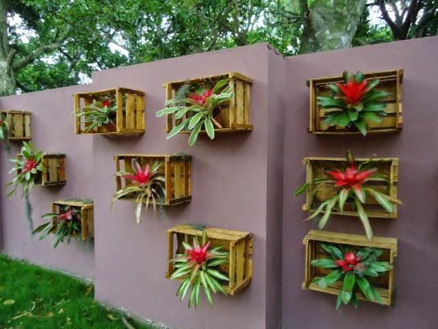 Casa da Mulher Antenada Já Pensou em Usar Paletes na Decoraç u00e3o? -> Decoração Para Jardins Com Paletes