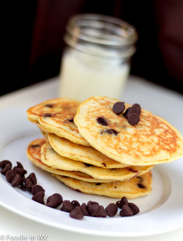 Click for Recipe for Chocolate Chip Pancakes