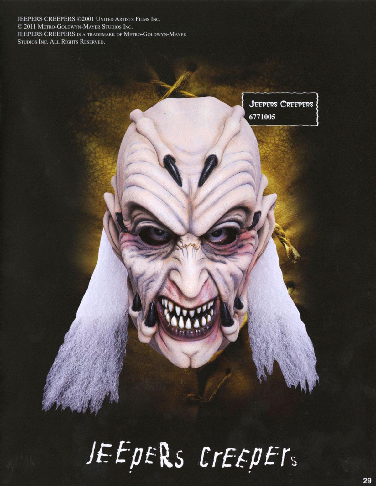 2011 Don Post Studios Catalog | Blood Curdling Blog of Monster Masks