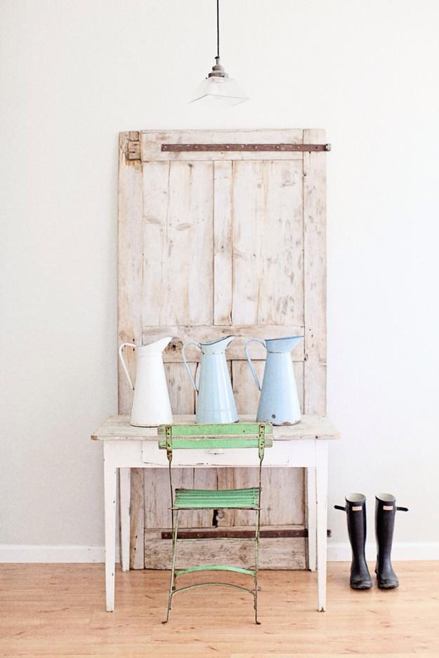 Cosas de palmichula decorar con antiguas puertas y for Como reciclar puertas antiguas