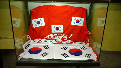 Korea cheering prop from 2002 FIFA World Cup