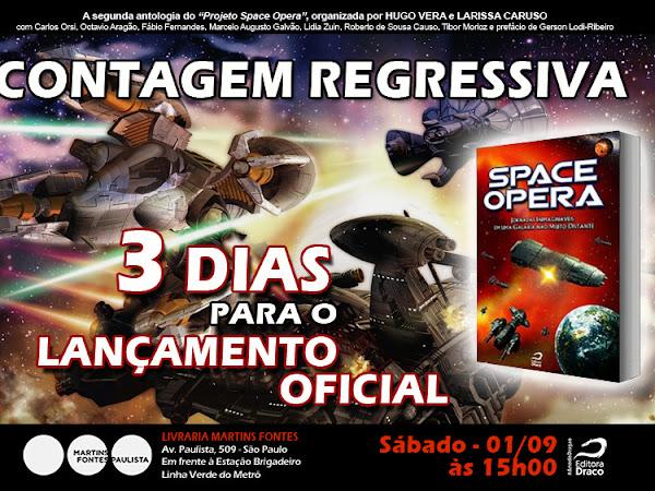 Lançamento de Space Opera II - Jornadas Inimagináveis em uma Galáxia Não Muito Distante da Editora Draco em São Paulo