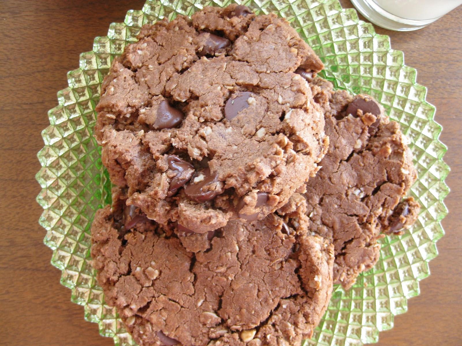 alipyper: Chocolate Peanut Butter Oatmeal Cookies