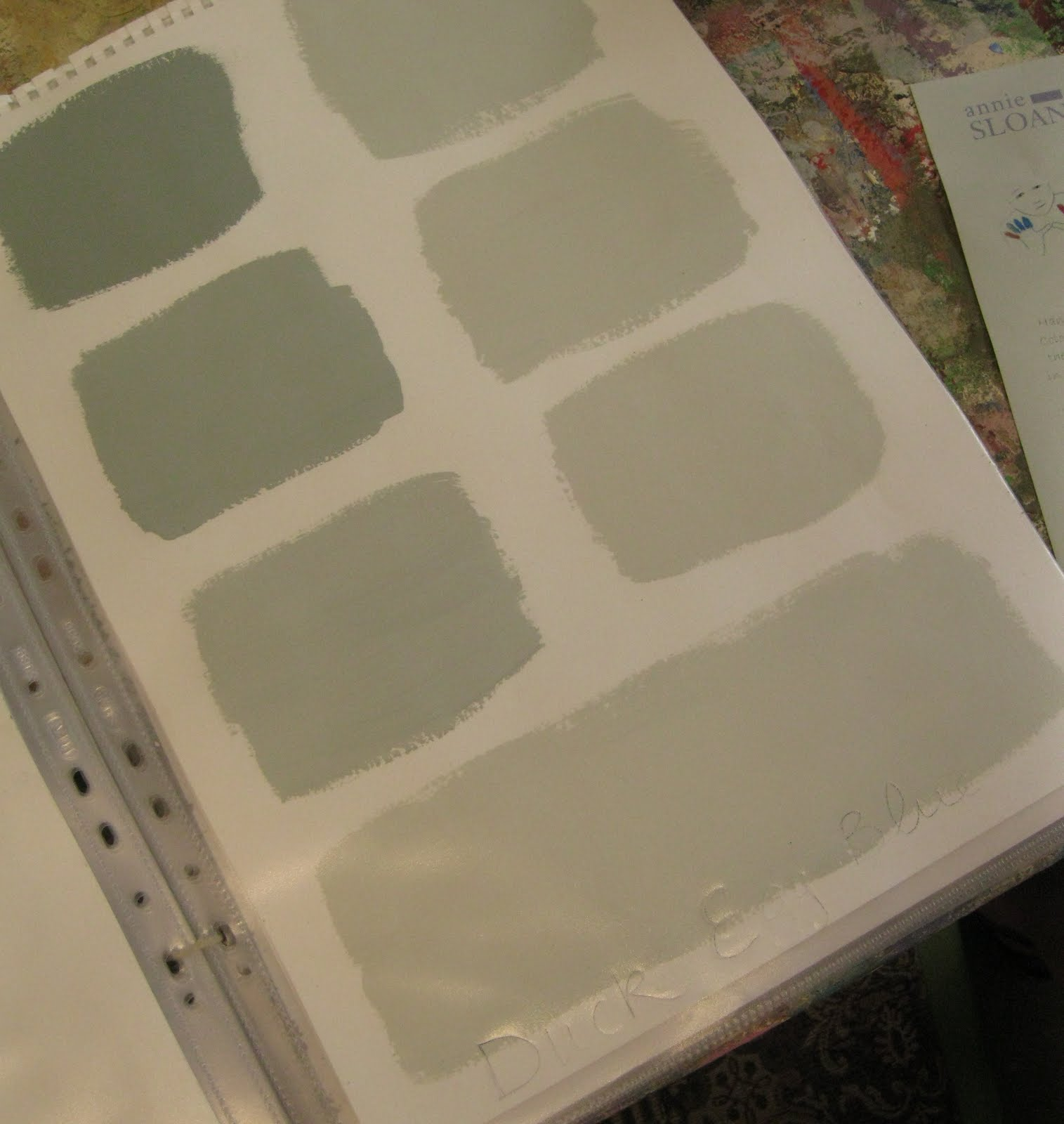 Mixing Annie Sloan Chalk Paint