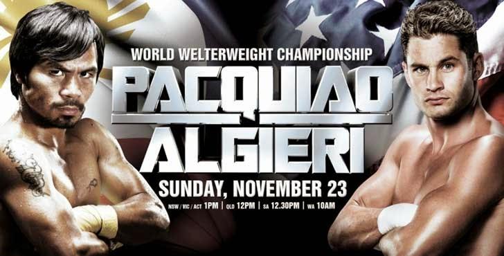 Pacquiao vs Algieri: Live Undercard Bout Results