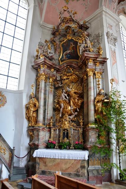 Pfarrkirche St Peter Paul Oberammergau Altar