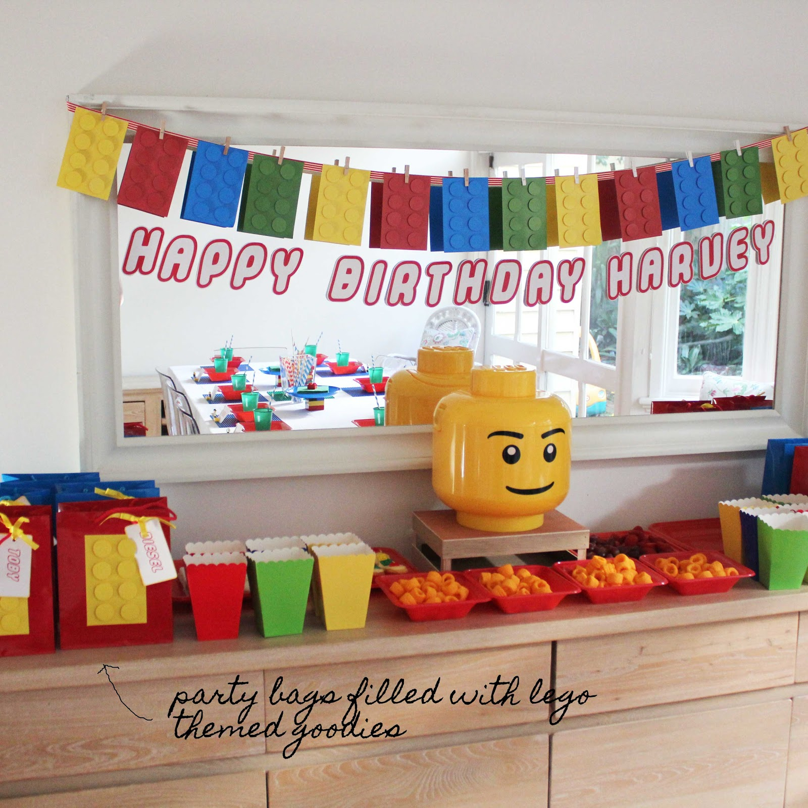 Lego Birthday Party Pictures