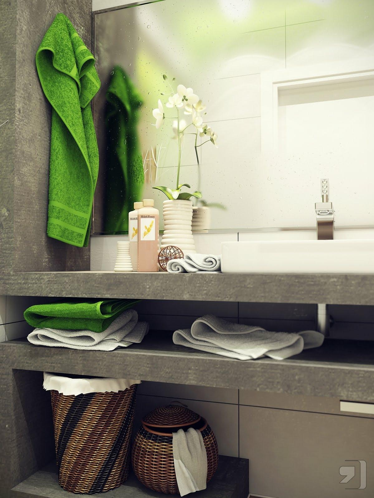 การออกแบบห้องน้ำขนาด