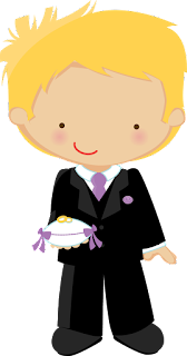 Flower Girl and Ring Bearer Clipart. | Oh My Fiesta Wedding!