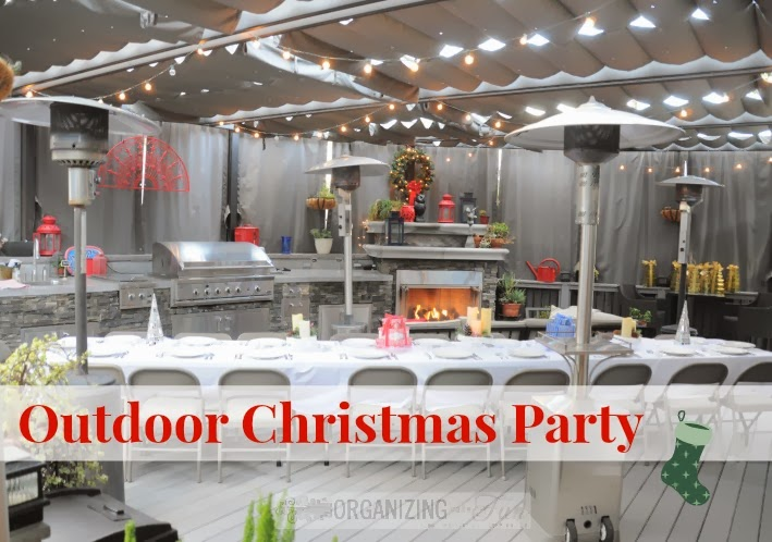 A Southern California Outdoor Christmas Party | Organizing ...
