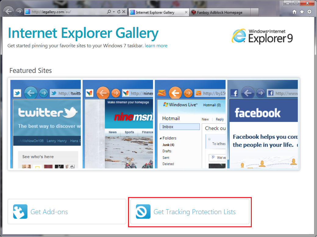 How to Block Tracking Cookies in Internet Explorer