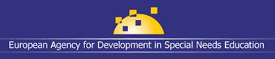 Logotipo Agencia Europea para el Desarrollo de la Educación Especial