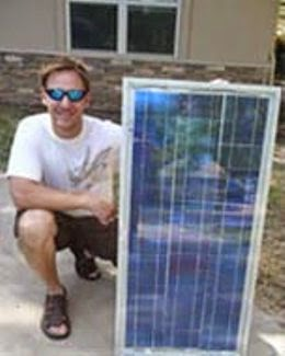 Making your own DIY solar power panels