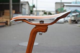 Handmade Wooden Bike, wooden bikes, Ueshiro Sano