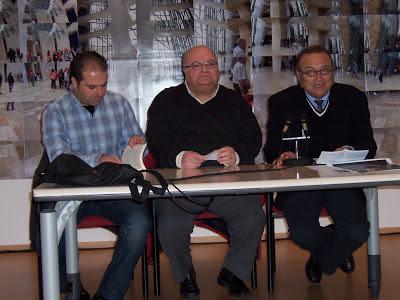 Antonio César Morón, Enrique Morón y Gregorio Morales