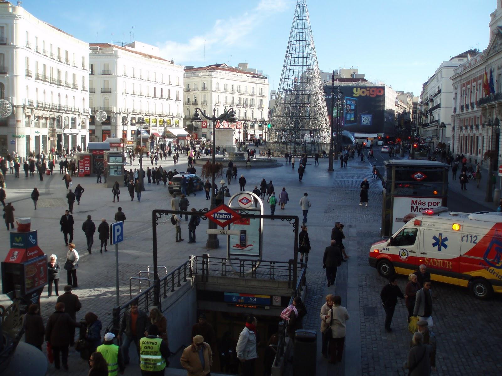La Puerta Del Sol Manuelblas Madrid