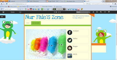 Nur Faie: The special frog : FROG VLE