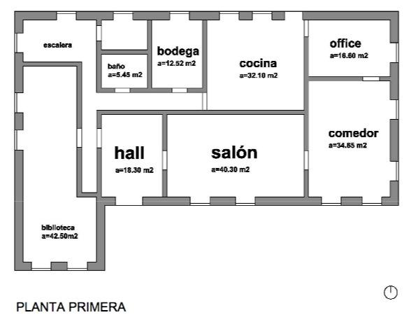 Casa para rodajes villa nati en madrid planos del interior - Planta baja en ingles ...