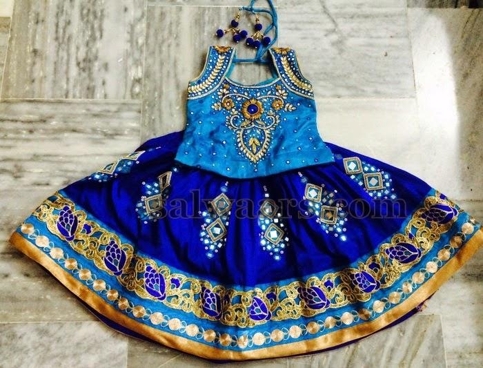 Blue Heavy Mirror Work Skirt Indian Dresses,Cottage Garden Landscape Design Ideas