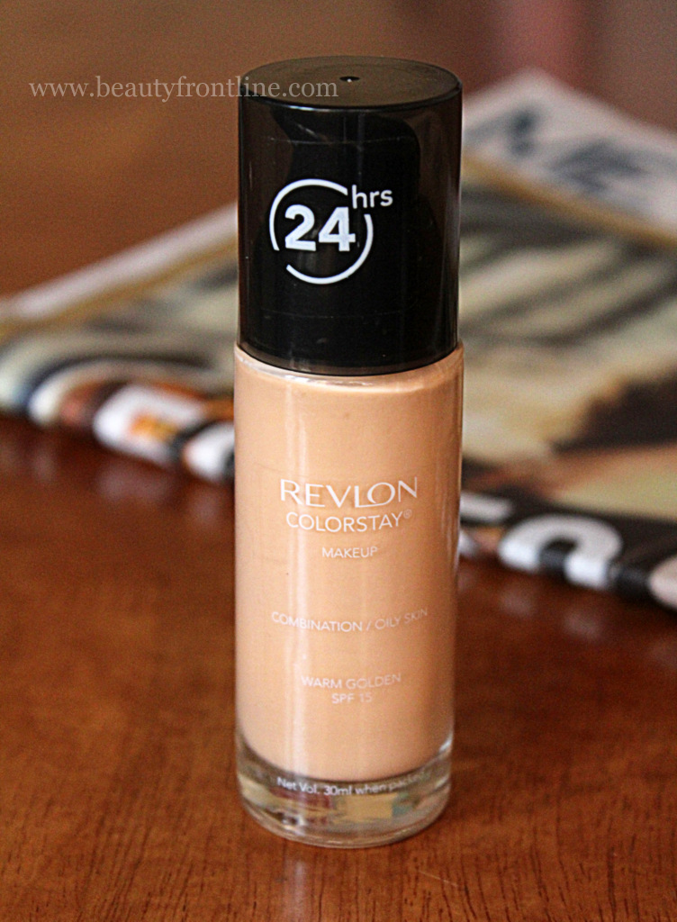 Review & FOTD: Revlon Colorstay Foundation Combination/Oily skin ...