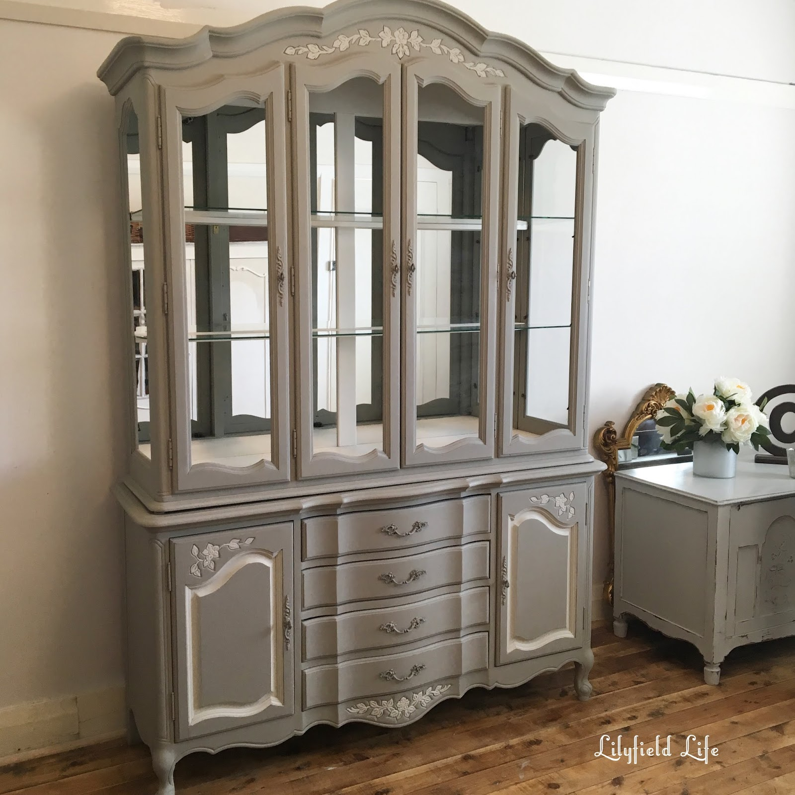 Lilyfield Life French Style Buffet Painted In Taupe