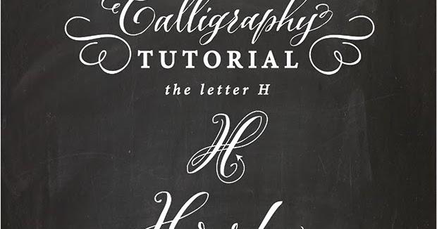 Antiquaria Calligraphy Tutorial