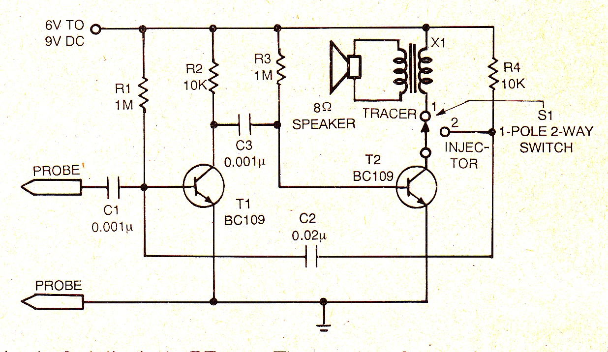 Simple Circuit Timer Wiring Diagram Master Blogs By Triac 2n6075 And Lm555lm358 Electronic Projects Circuits Signal Injector Using 555